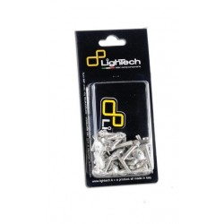 ERGAL LIGHTECH SCREWS KIT FOR FAIRING KAWASAKI ER-6N 2009/2011