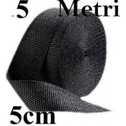 BENDA TERMOISOLANTE PER COLLETTORI CM 5 X MT 5 SCURA