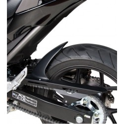 PARAFANGO POSTERIORE BARRACUDA IN ABS NERO CON PARACATENA PER HONDA INTEGRA 700 2012/2013