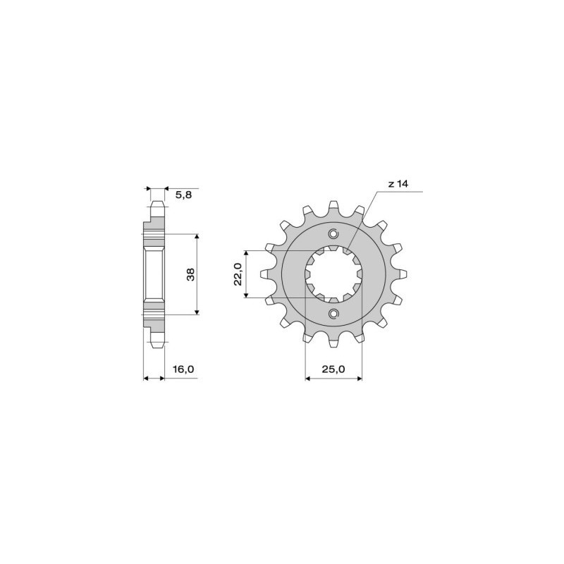 STEEL PIN FOR CHAIN 520 FOR DUCATI STREET CLASSIC 800 2017/2018
