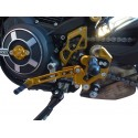 PEDANE ARRETRATE REGOLABILI 4 RACING MODELLO RACE PER DUCATI SCRAMBLER STREET CLASSIC 800 2017/2018 (cambio standard)