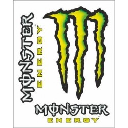 MONSTER SCRATCH ADHESIVE CM 10 x 12