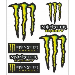MONSTER SCRATCH STICKERS CM 20 x 24