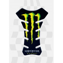 3D STICKER PROTECTION TANK LOGO SCRATCH MONSTER
