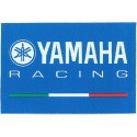 PATCH ADHESIVE IN FABRIC YAMAHA RACING CM 8 X 5.2
