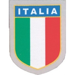 ADHESIVE PATCH IN THE SCUDETTO ITALY 5.3x6.1 cm