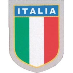 PATCH ADESIVA IN TESSUTO SCUDETTO ITALIA 5,3x6,1 cm