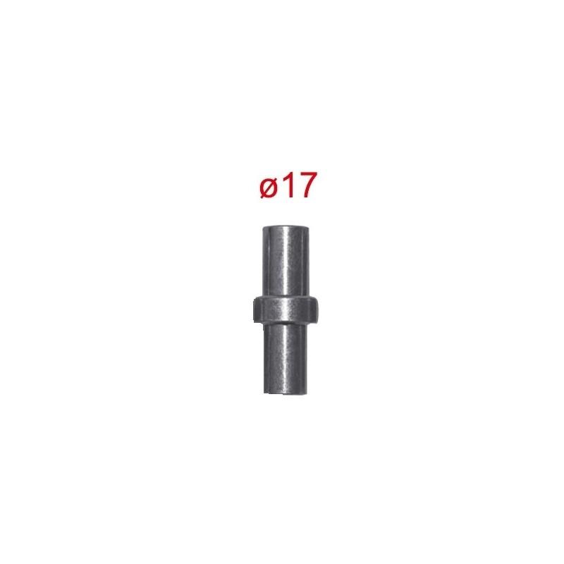PERNO PER CAVALLETTO ANTERIORE SOTTOCANOTTO FS-11 PER MOTO CON FORO DIAM. 17 mm