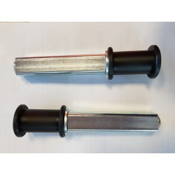 PAIR OF SINGLE ROLLER SUPPORTS FOR REAR STAND RS 17