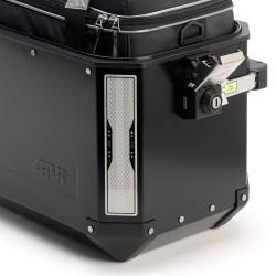 PAIR OF REFLECTIVE ADHESIVES SPECIFIC FOR SIDE CASES GIVI TREKKER DOLOMITI, TREKKER ALASKA MODEL
