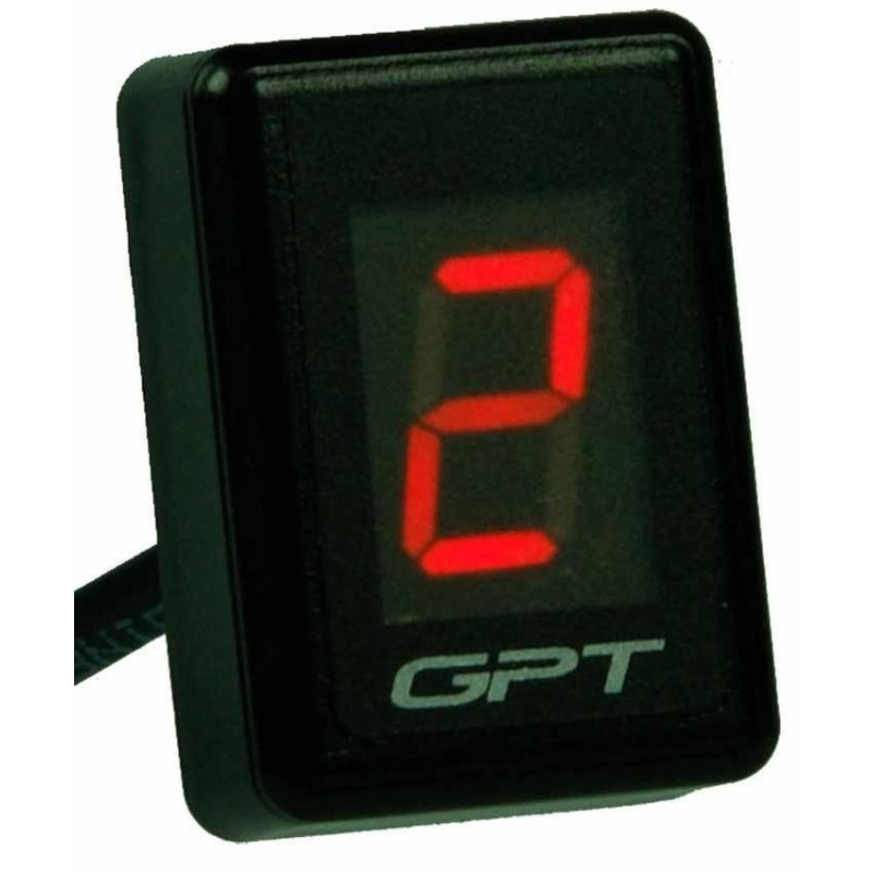 DIGITAL DRIVING INDICATOR INSERTED UNIVERSAL GPT GI 1001 R RED