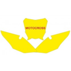 BLACKBIRD NUMBER STICKER KIT MOTOCROSS MODEL FOR HONDA CRF 450 R 2017/2019, CRF 250 R 2018/2019