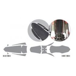 BLACKBIRD ANTI MUD KIT FOR MUDGUARDS SUZUKI RM-Z 250 2010/2018