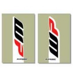 FORK LINER STICKERS PAIR BLACKBIRD 2017 WP MODEL FOR KTM, TRANSPARENT