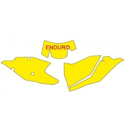 NUMBER-CARRYING STICKER KIT BLACKBIRD ENDURO MODEL FOR KTM EXC/EXC-F 2017/2019 (ALL DISPLACEMENTS)