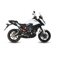 BLACK MIVV SOUND EXHAUST TERMINAL WITH CARBON CUP FOR KAWASAKI VERSYS 650 2015/2020, APPROVED