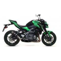 DARK GP2 ARROW EXHAUST TERMINAL FOR KAWASAKI Z 900 2017/2019, APPROVED