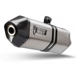 MIVV SPEED EDGE EXHAUST TERMINAL IN STAINLESS STEEL FOR KTM 1090 ADVENTURE 2017/2019, APPROVED