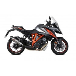 EXHAUST MIVV OVAL TITANIUM CARBON CUP FOR KTM 1290 SUPER DUKE GT 2016/2020, APPROVED