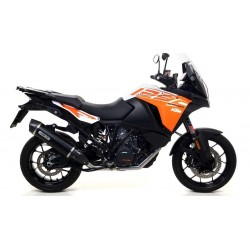 EXHAUST PIPE ARROW MAXI RACE-TECH DARK CARBON CUP FOR KTM 1290 SUPER ADVENTURE S 2017/2020, APPROVED