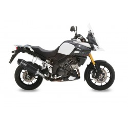 EXHAUST TERMINAL MIVV SPEED EDGE BLACK CARBON CUP FOR SUZUKI V-STROM 1000 2014/2019, APPROVED