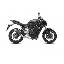 COMPLETE EXHAUST SYSTEM MIVV GP BLACK HIGH FOR YAMAHA MT-07 2014/2019