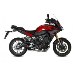 COMPLETE EXHAUST SYSTEM MIVV OVAL CARBON CARBON CUP FOR YAMAHA TRACER 900 2015/2019, APPROVED