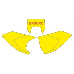 NUMBER-CARRYING STICKER KITS BLACKBIRD ENDURO MODEL FOR HUSQVARNA TE/FE 2017/2019