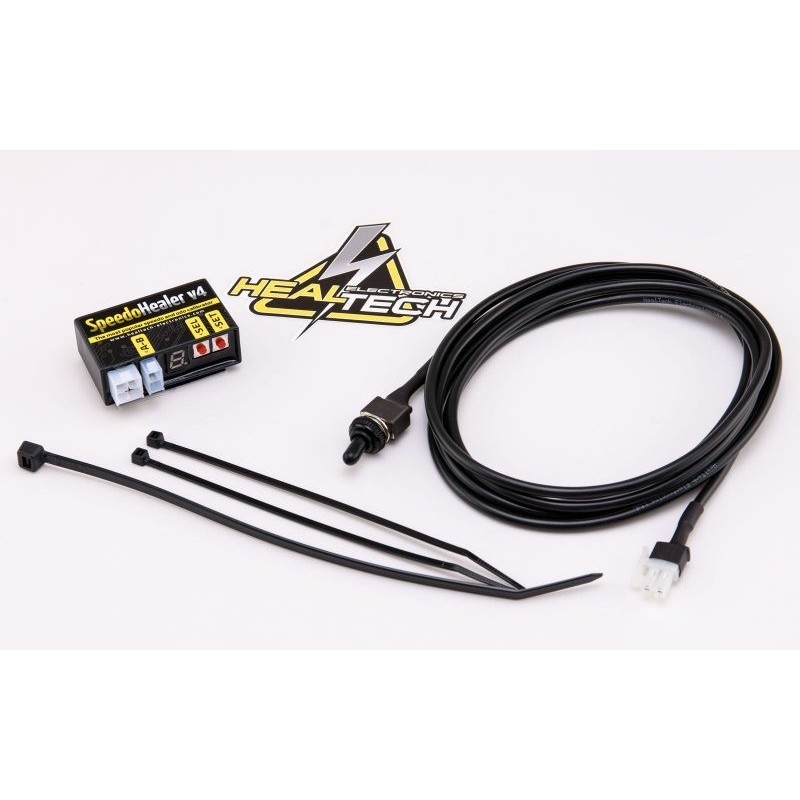 HEALTECH SPEEDO HEALER CONTROL UNIT WITH DOUBLE SETTING AND WIRING FOR KTM 990 2007/2011, RC8 1190 2008/2013