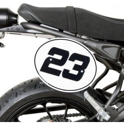 BARRACUDA NUMBER TABLE KIT FOR YAMAHA XSR 700 2016/2020