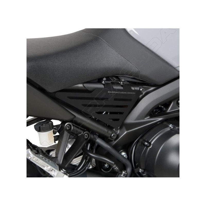 PAIR OF BARRACUDA SIDE PANELS IN ALUMINUM FOR YAMAHA XSR 900 2016/2019