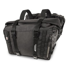 PAIR OF SOFT SIDE BAGS KAPPA RA316BK CAPACITY 25 LITERS, BLACK COLOR
