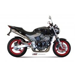 EXHAUST TERMINAL MIVV X-CONE IN STAINLESS STEEL FOR HONDA HORNET 600 2003/2006, APPROVED