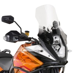 WINDSCREEN KAPPA FOR KTM 1190 ADVENTURE 2013/2016, TRANSPARENT