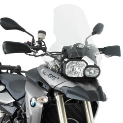 WINDSCREEN KAPPA FOR BMW F 650 GS 2008/2012, TRANSPARENT
