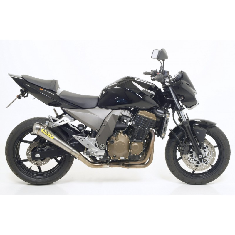 STAINLESS STEEL EXHAUST ARROW FOR KAWASAKI Z 750 2004/2006, 750 S 2005/2006, APPROVED