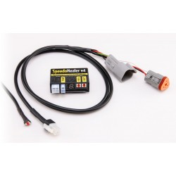HEALTECH SPEEDO HEALER CONTROL UNIT WITH WIRING FOR APRILIA RS 125 1998/2010, RS 250 1996/2002