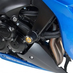 PAIR OF BARRACUDA FRAME PROTECTION PADS FOR SUZUKI GSX-S 1000 2015/2020