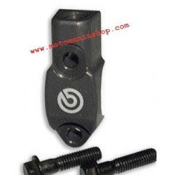 LEFT MIRROR ATTACHMENT FOR BREMBO CLUTCH PUMP 16RCS (Thread connection M10 x 1.25)