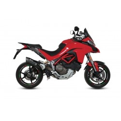 EXHAUST MIVV SOUND BLACK WITH DECATALIZER FITTING FOR DUCATI MULTISTRADA 1200/S 2015/2017
