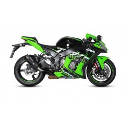 BLACK SOUND MIVV EXHAUST TERMINAL FOR KAWASAKI ZX-10R 2016/2020, APPROVED