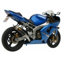 MIVV GP EXHAUST TERMINAL IN CARBON FOR KAWASAKI ZX-6R 636/ZX-6RR 600 2003/2004, APPROVED