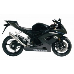 MIVV X-CONE EXHAUST TERMINAL IN STAINLESS STEEL FOR SUZUKI GSX-R 1000 2005/2006, APPROVED