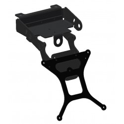 ADJUSTABLE ALUMINUM LICENSE PLATE SUPPORT FOR BMW R 1200 GS 2004/2012