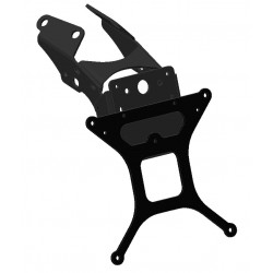 ADJUSTABLE ALUMINUM LICENSE PLATE SUPPORT FOR DUCATI HYPERMOTARD 1100/S 2007/2009