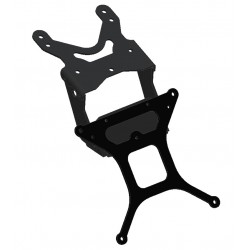ADJUSTABLE ALUMINUM LICENSE PLATE HOLDER FOR DUCATI MONSTER