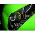 COPPIA TAMPONI DI PROTEZIONE CARENA 4-RACING SERIE COLOR PER APRILIA SHIVER 750 2007/2017, SHIVER 750 GT 2009/2014