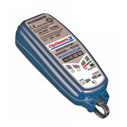 CHARGER OPTIMATE 3 0.8A WITH SAE GRIP MAINTENANCE FUNCTION