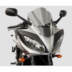 WINDSCREEN FABBRI TOURING FOR YAMAHA FZ6 FAZER S2 2007/2012, TRANSPARENT