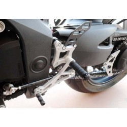 FOOTRESTS FIXED 4-RACING FOR TRIUMPH SPEED TRIPLE 1050 2011/2015 (standard and reverse shifting control)